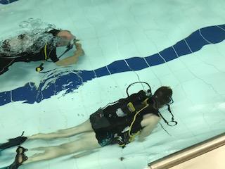 Gratis duikinitiatie duikclub Meise