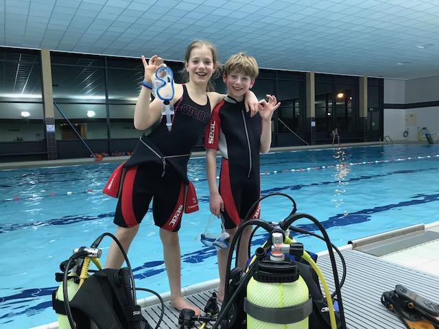 Meise Junior duikclub voor kinderen