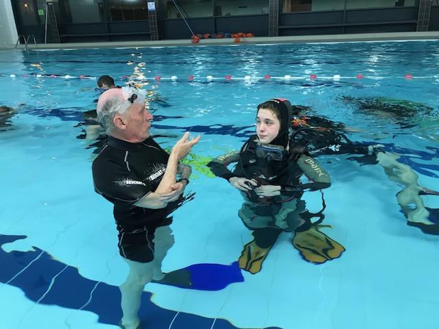 Zwembad Meise duikles voor kinderen